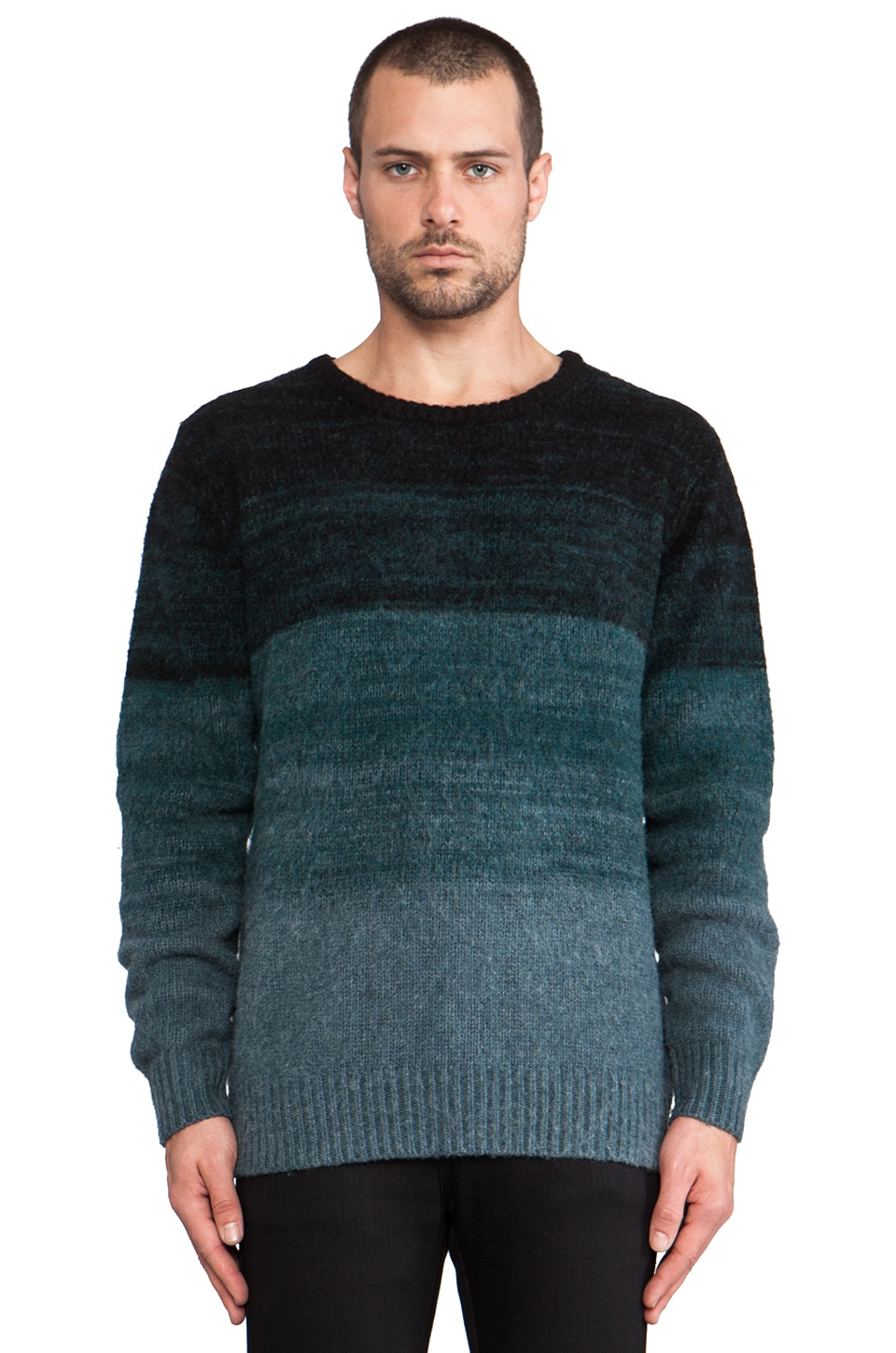 LEVI'S: Made & Crafted Gradual Crew in Dragonfly