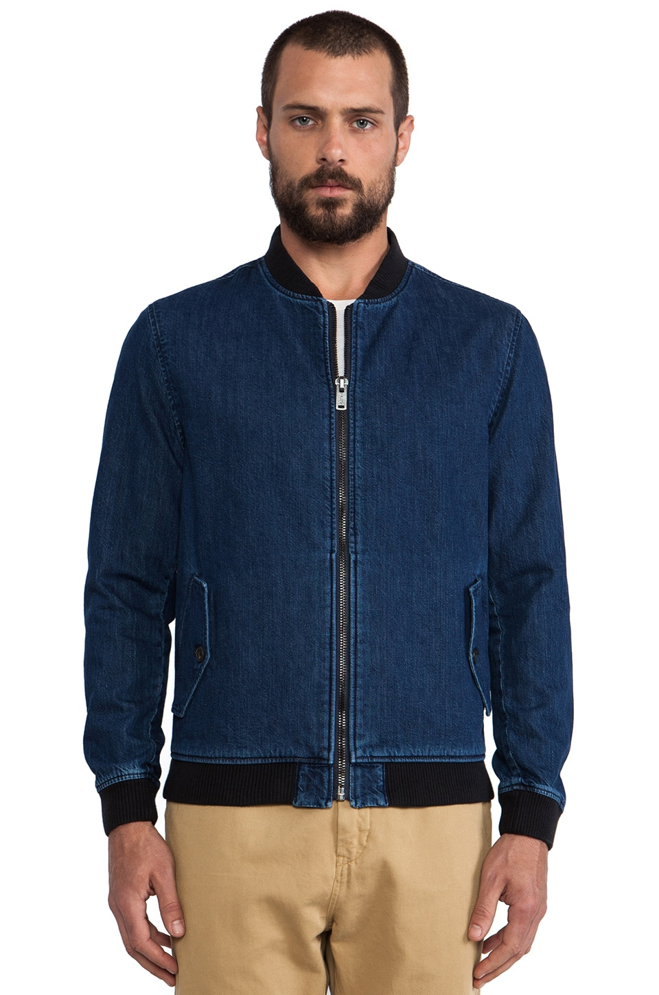LEVI'S: Made & Crafted Bomber Jacket in Denim