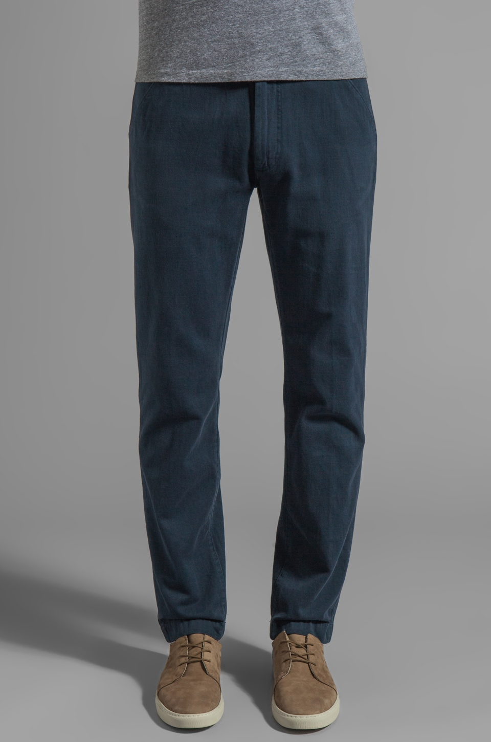 LEVI'S: Made & Crafted Spoke Chino in Black Iris