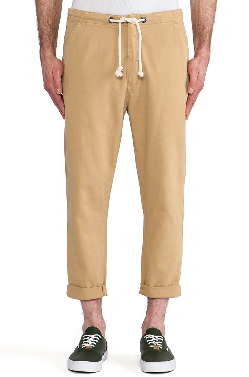 LEVI'S: Made & Crafted Drop Out Pant in Prairie Sand