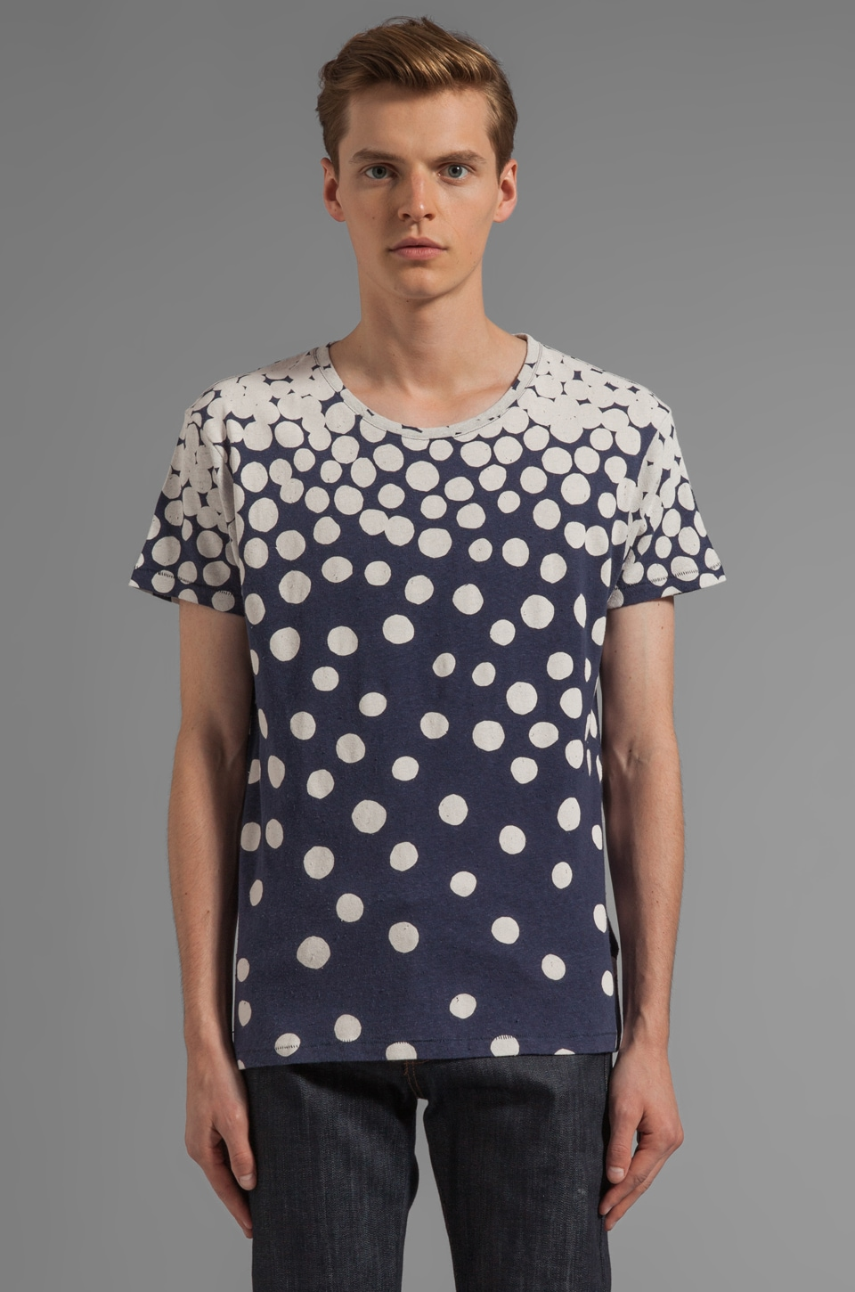 LEVI'S: Made & Crafted Bay Tee in Spots Gradation