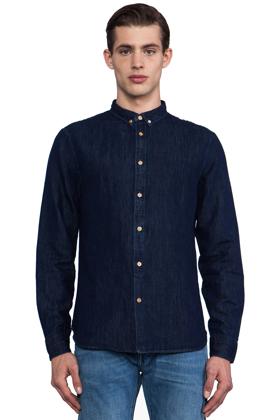 LEVI'S: Made & Crafted Shirt in Denim