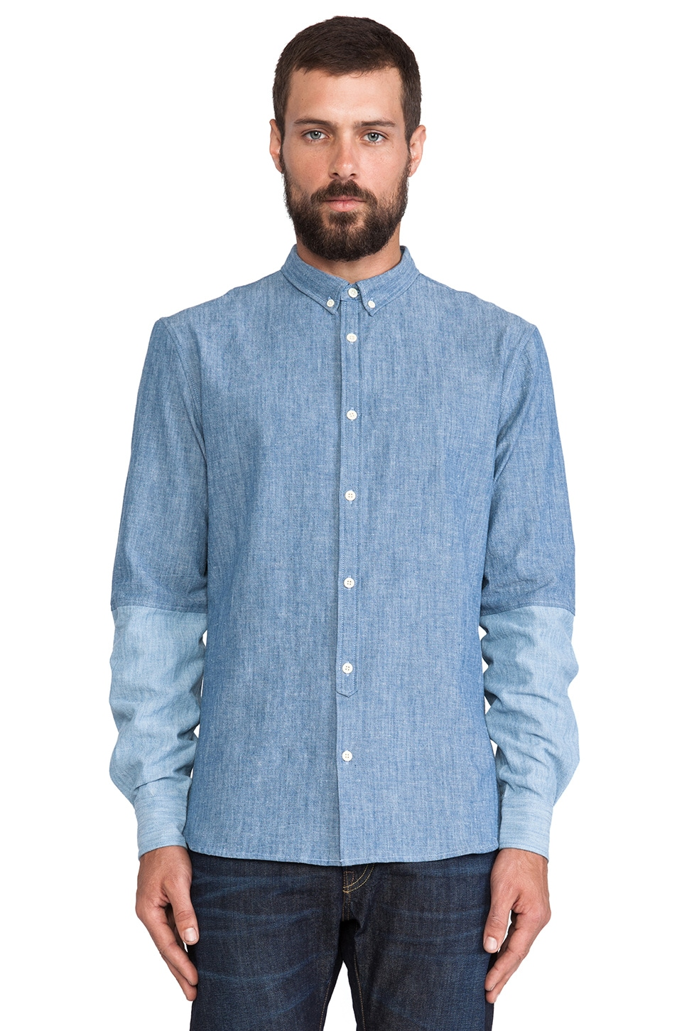 LEVI'S: Made & Crafted Button Down Shirt in Chambray