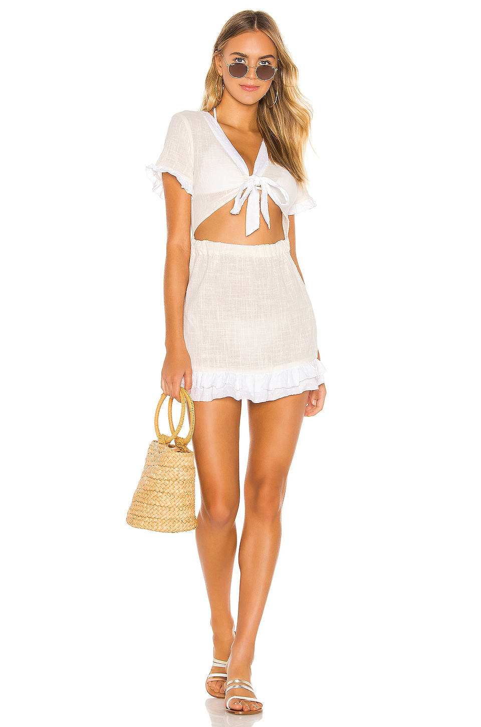 lovewave Small Town Girl Mini in Ivory