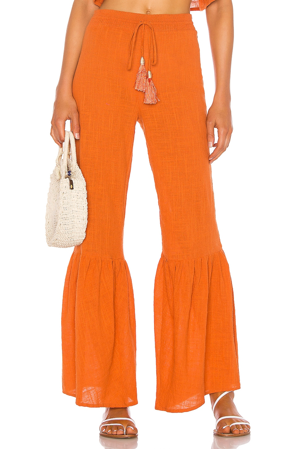 lovewave Gails Pant in Rustic Orange