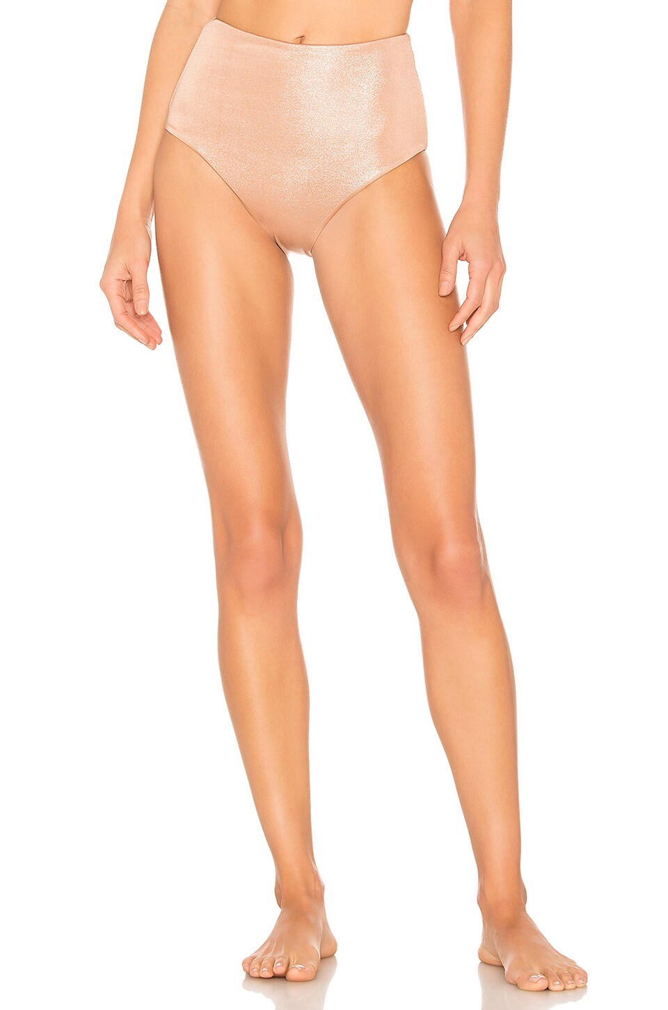 lovewave Denae High Waist Bottom in Gold