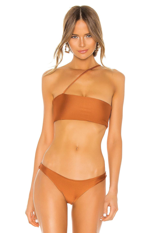 lovewave Balboa Top in Rustic Orange