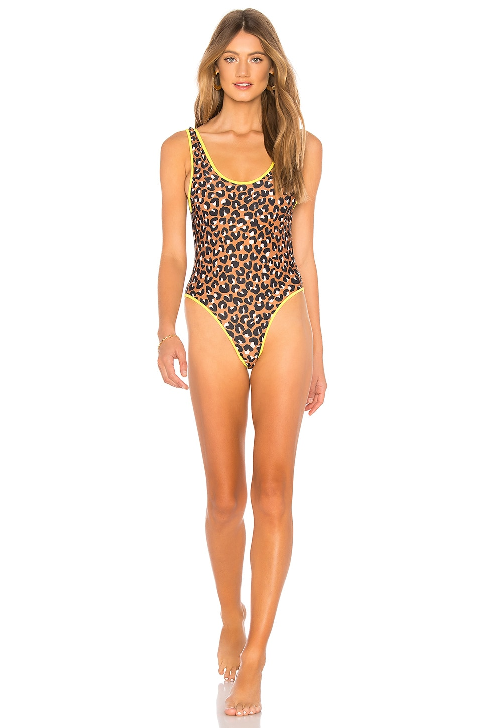 lovewave The Karlie One Piece in Leopard