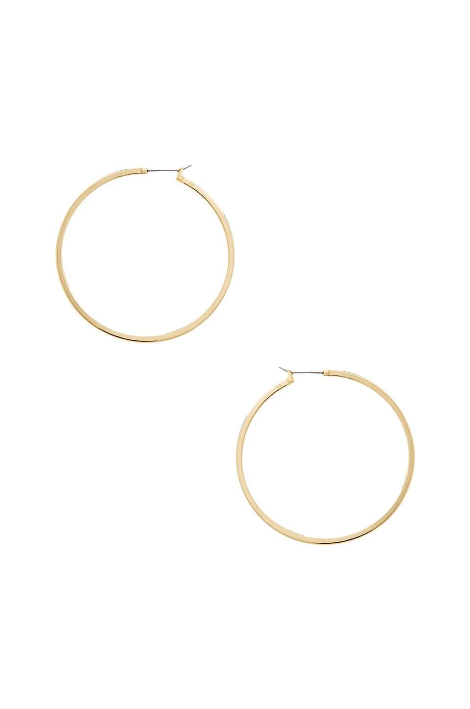 Lisa Freede Large Perfect Hoop Earring in Gold