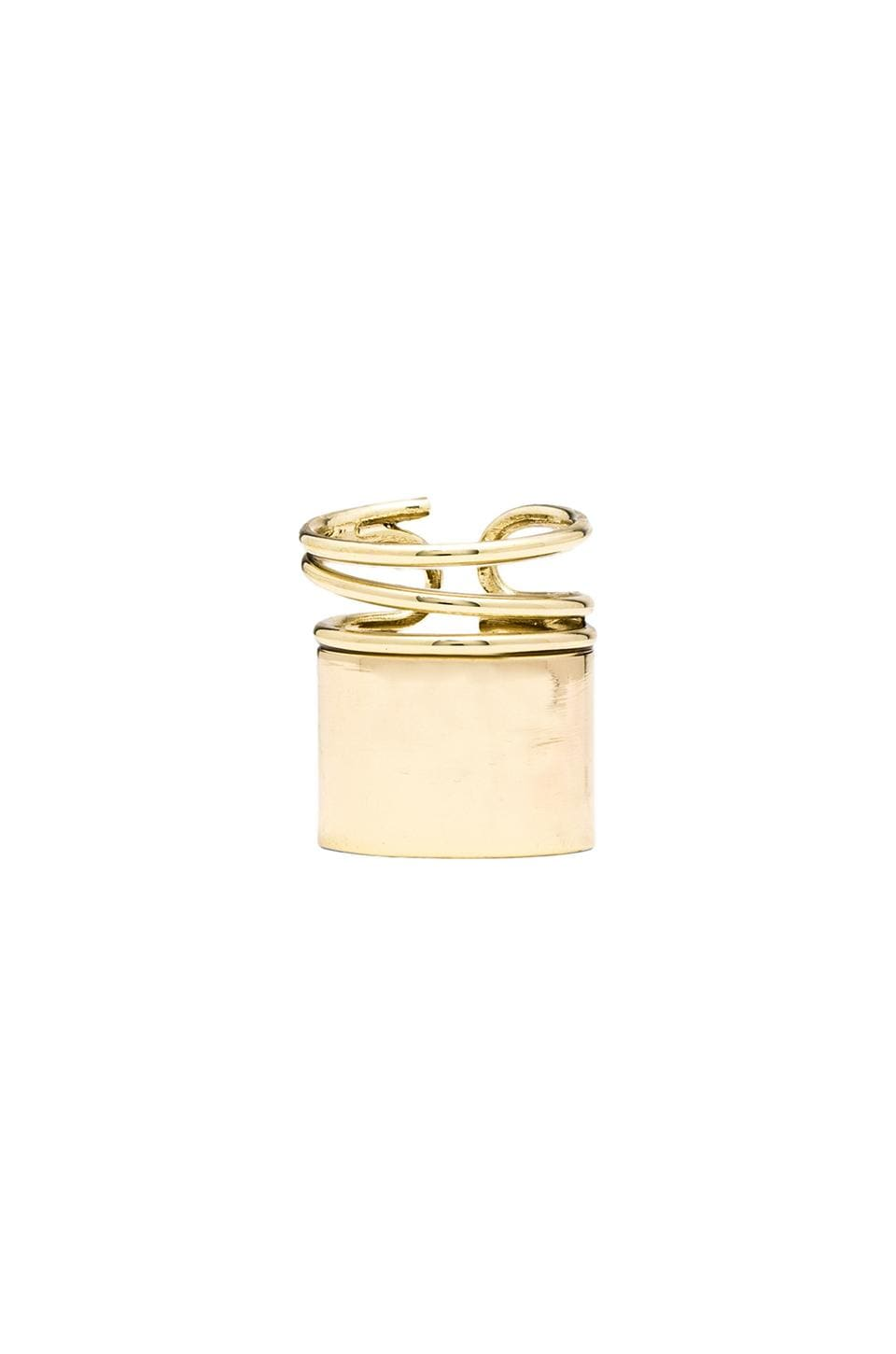 Lisa Freede Piper Ring in Gold