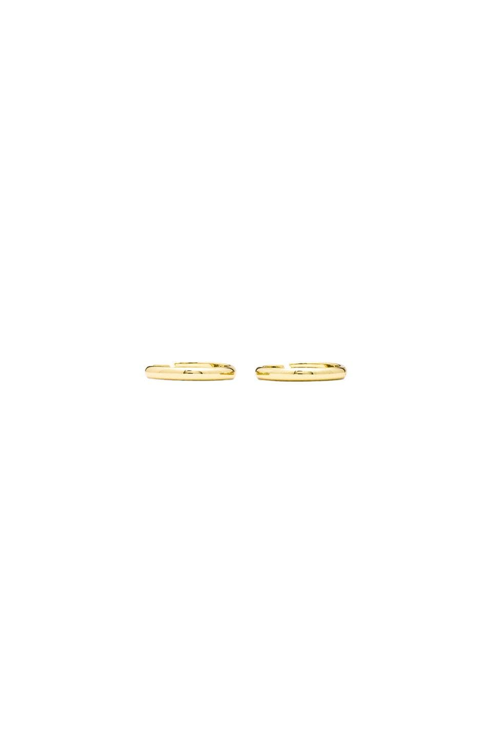 Lisa Freede Knuckle Ring Set of 2 in Gold