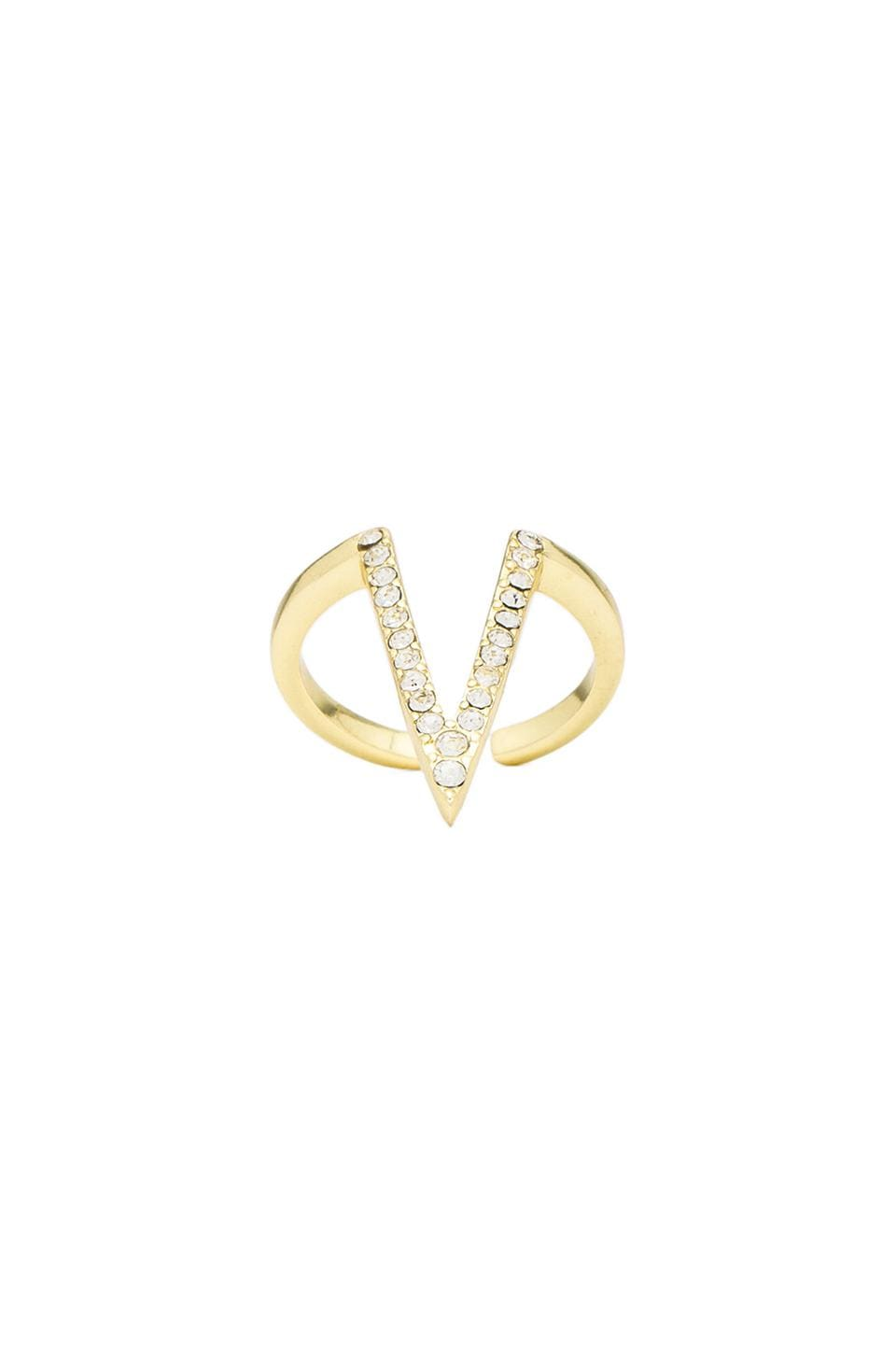 Lisa Freede Mayra Ring in Gold