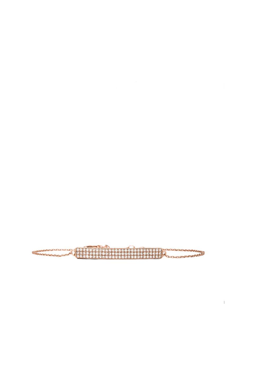 Lisa Freede Dainty ID Bracelet in Rose Gold