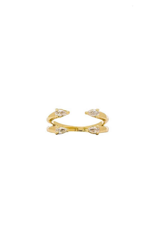 Lisa Freede Ava Ring in Gold