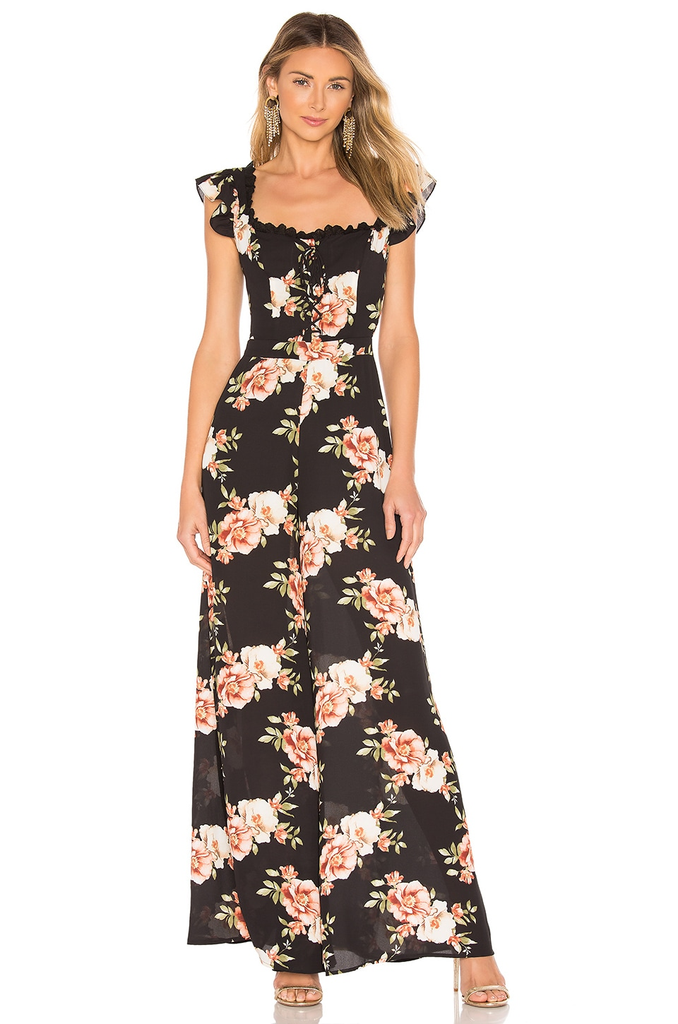 Likely Suits LIKELY MARLENA JUMPSUIT IN BLACK.