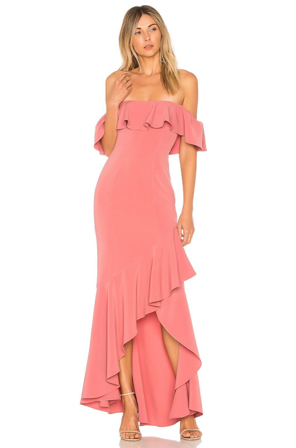 19d7691333f LIKELY Cabrera Gown in Mauvewood
