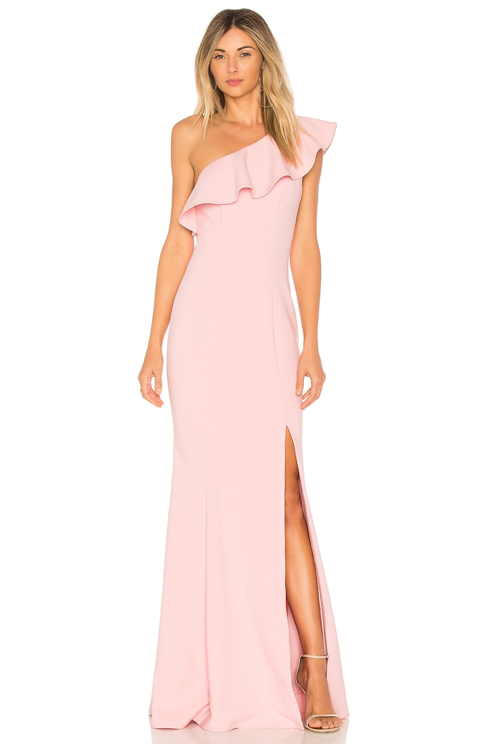 LIKELY Kane Gown in Cameo Pink