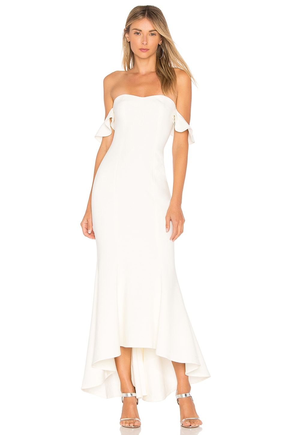 LIKELY Sunset Gown in Ivory