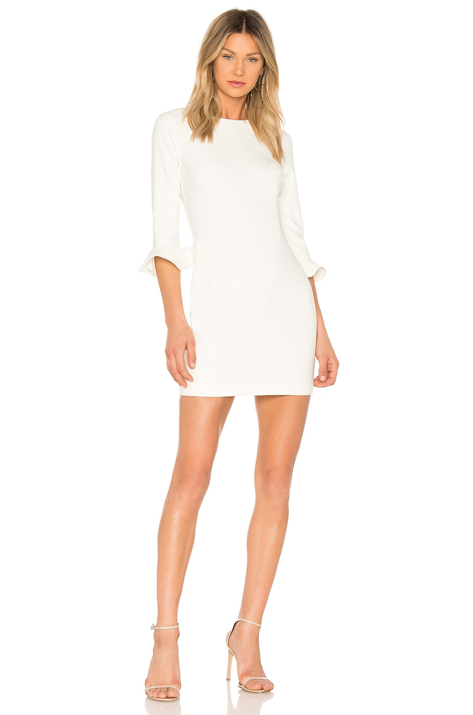 LIKELY Bedford Dress in White