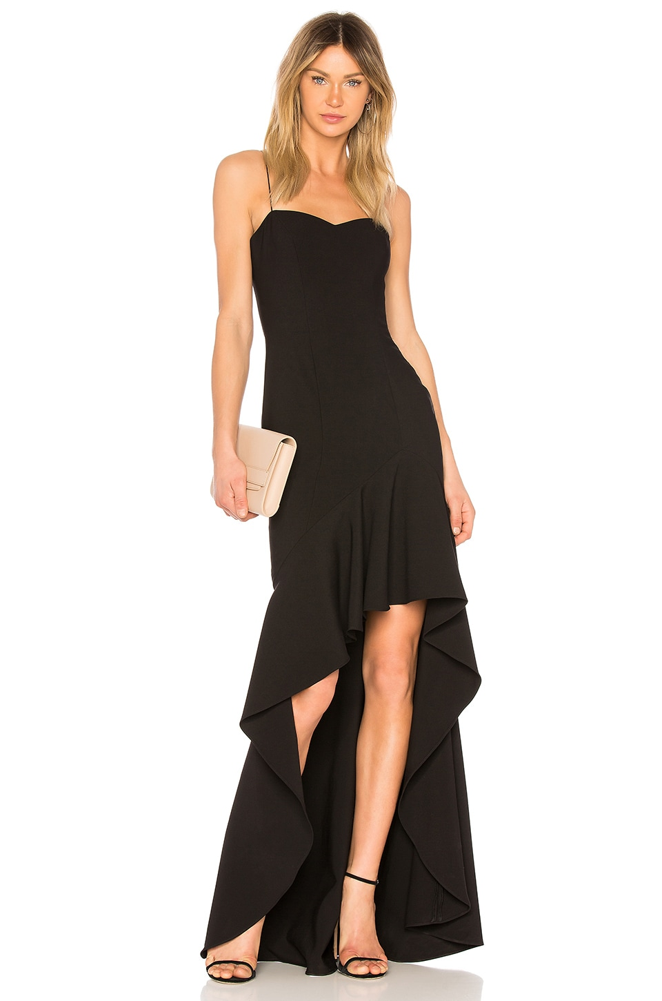 LIKELY Vita Gown in Black