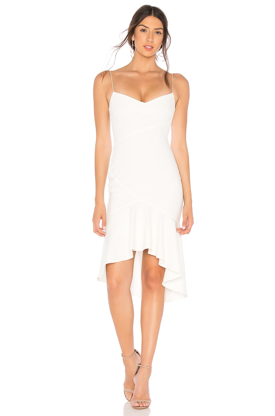 4bbb8e3176 LIKELY Ophelia Dress in White