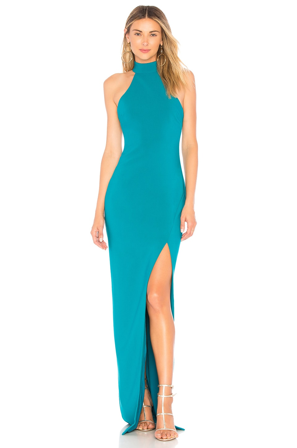 LIKELY Jennings Gown in Harbor Blue