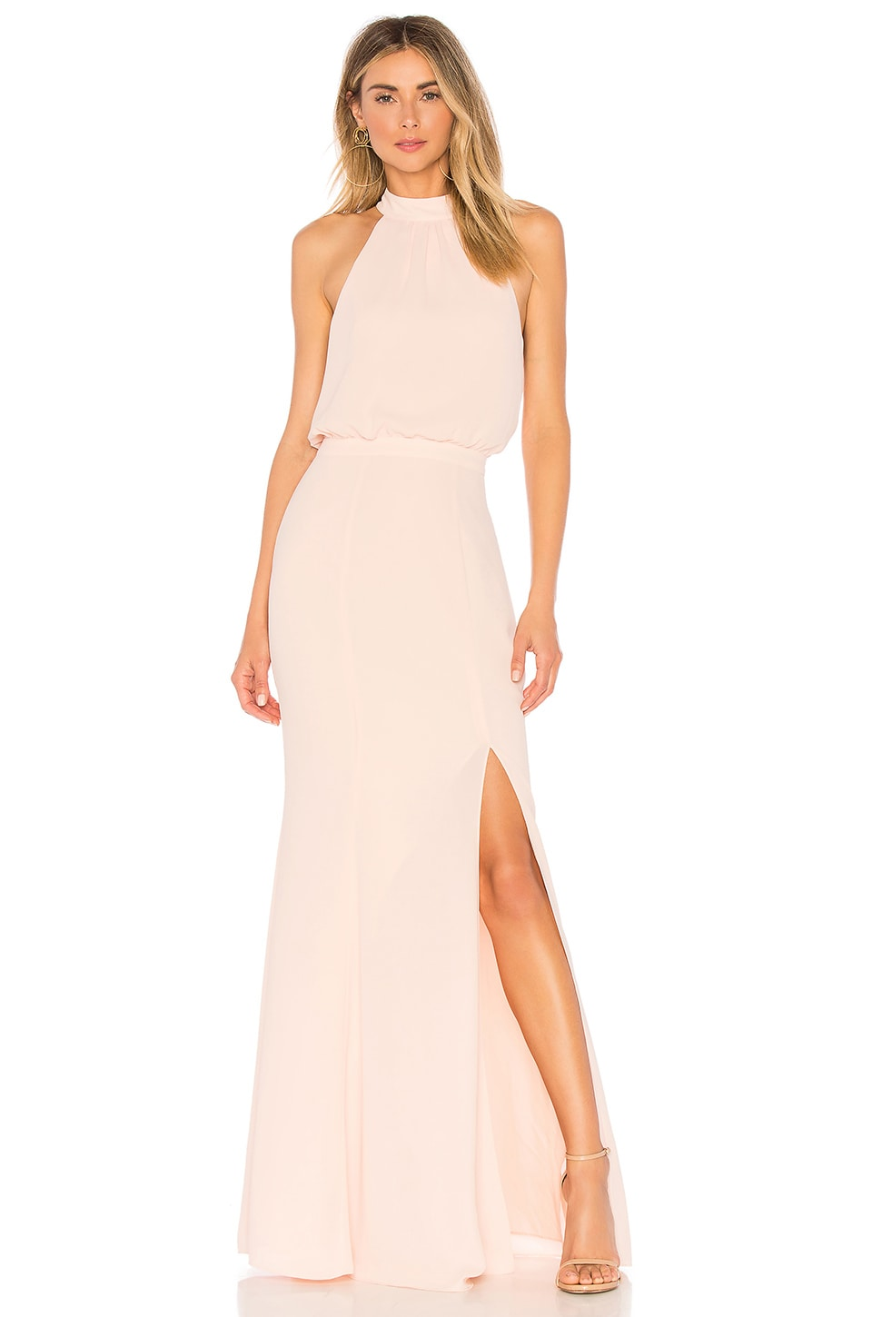 LIKELY Cameron Gown in Seashell Pink