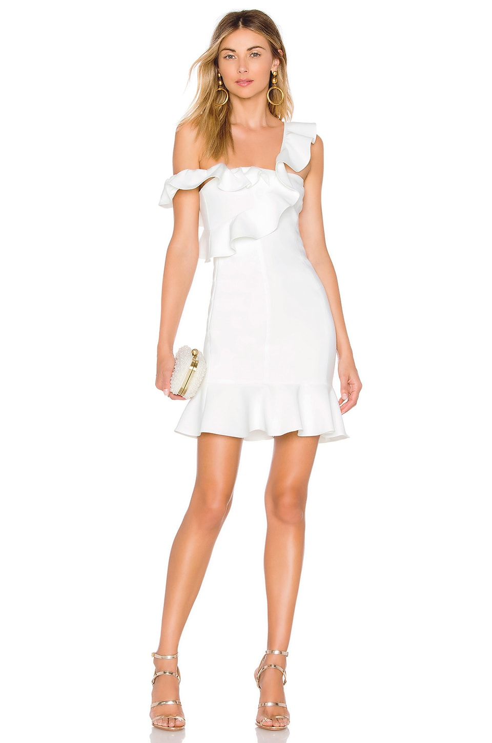 LIKELY Norvina Dress in White