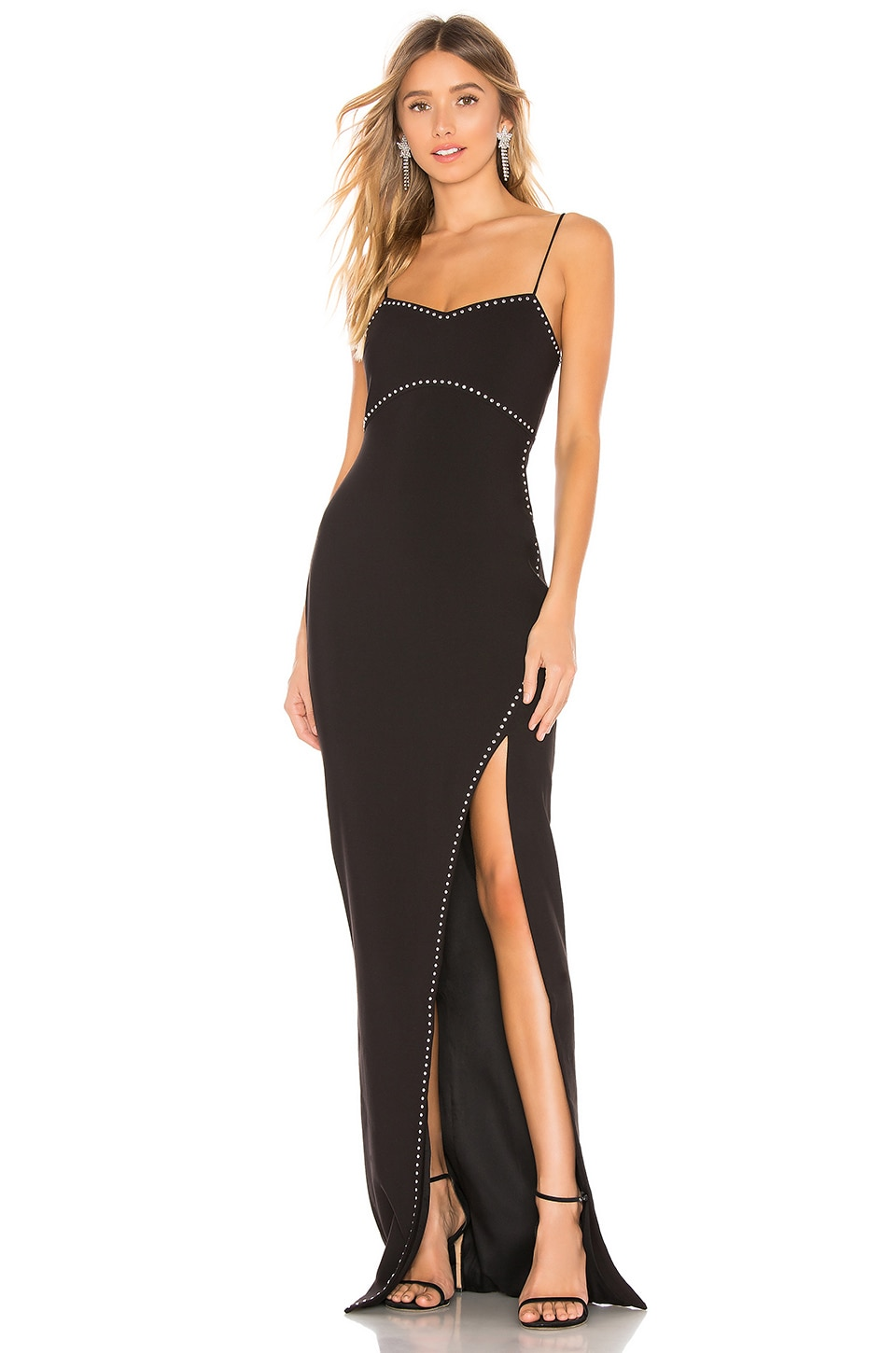 LIKELY Charlene Gown in Black