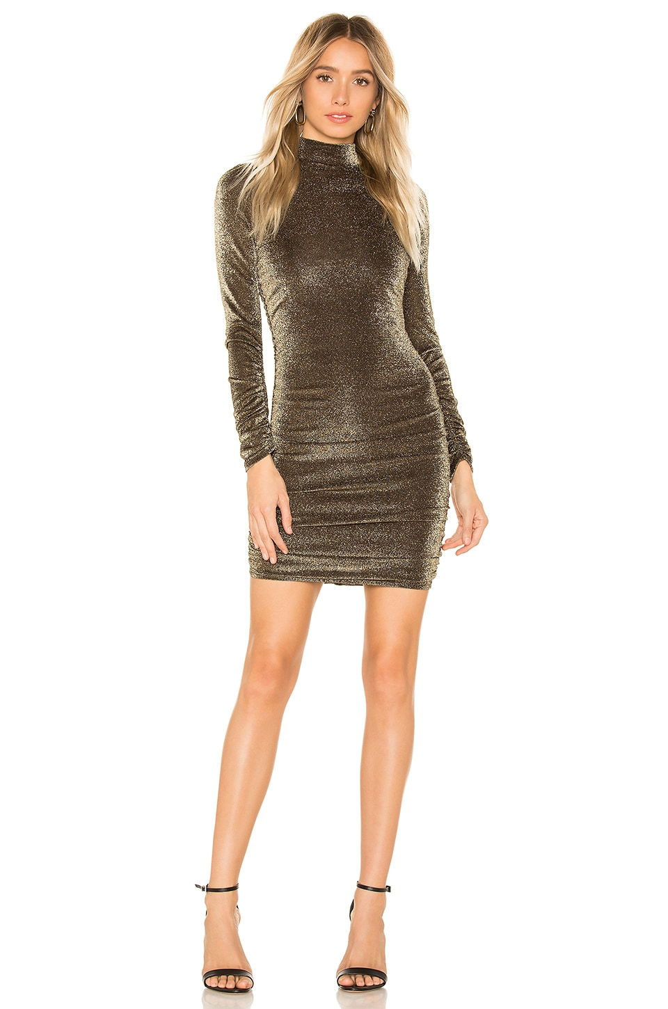 LIKELY Wylie Dress in Gold