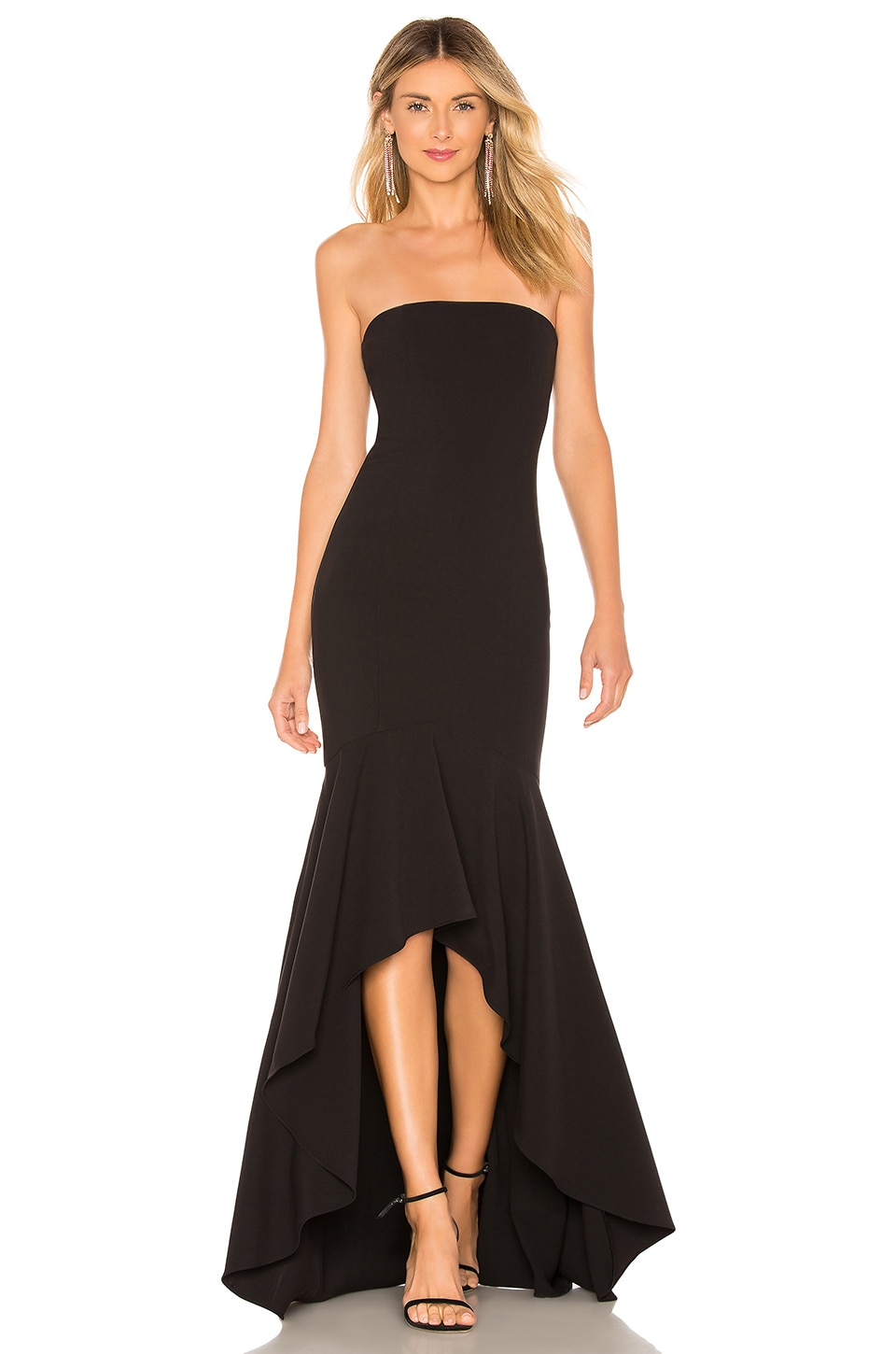LIKELY Carlo Gown in Black