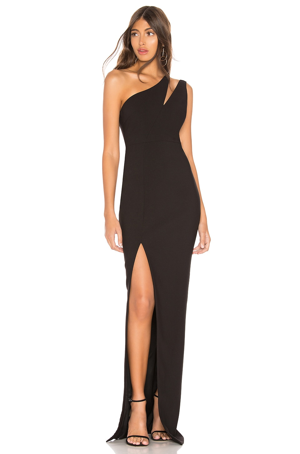 LIKELY Roxy Gown in Black