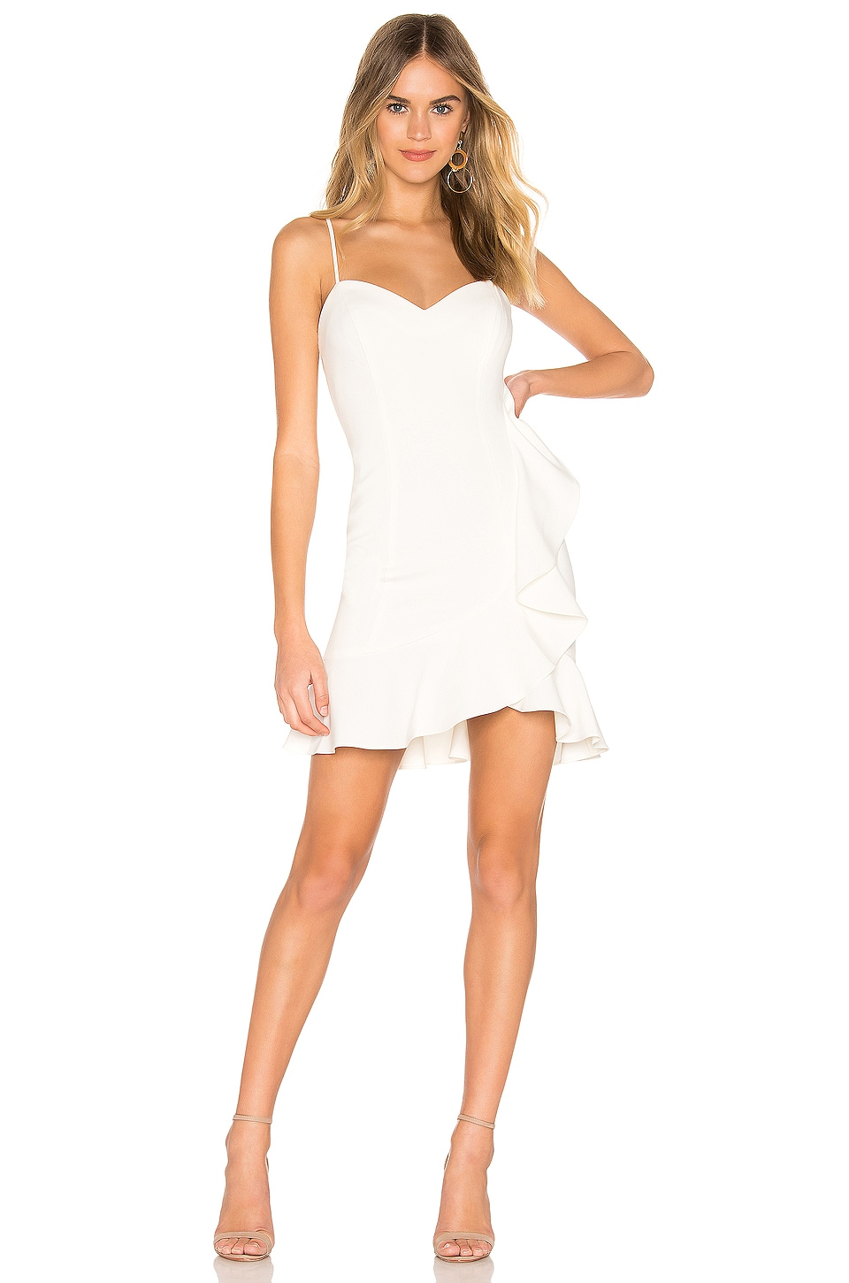 LIKELY Laverna Dress in White