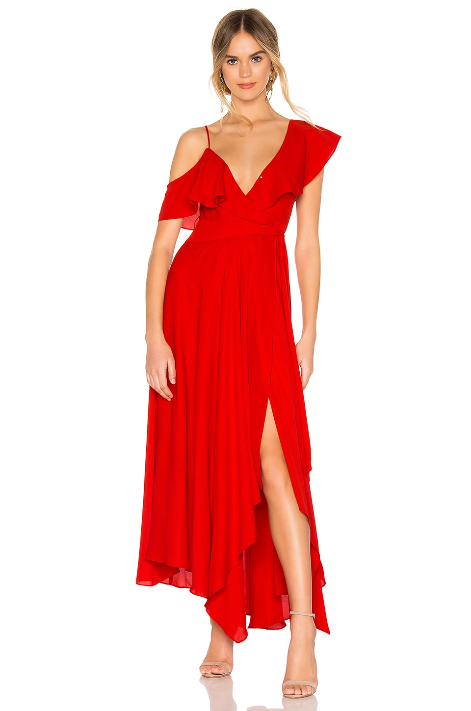 LIKELY x REVOLVE Leilani Dress in Red
