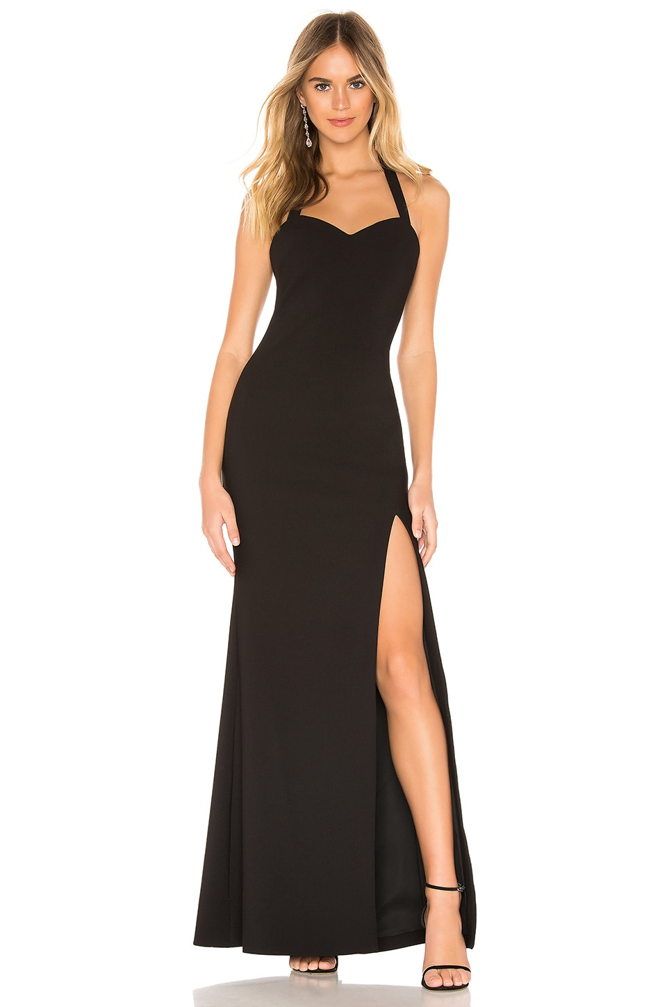 LIKELY Claire Gown in Black