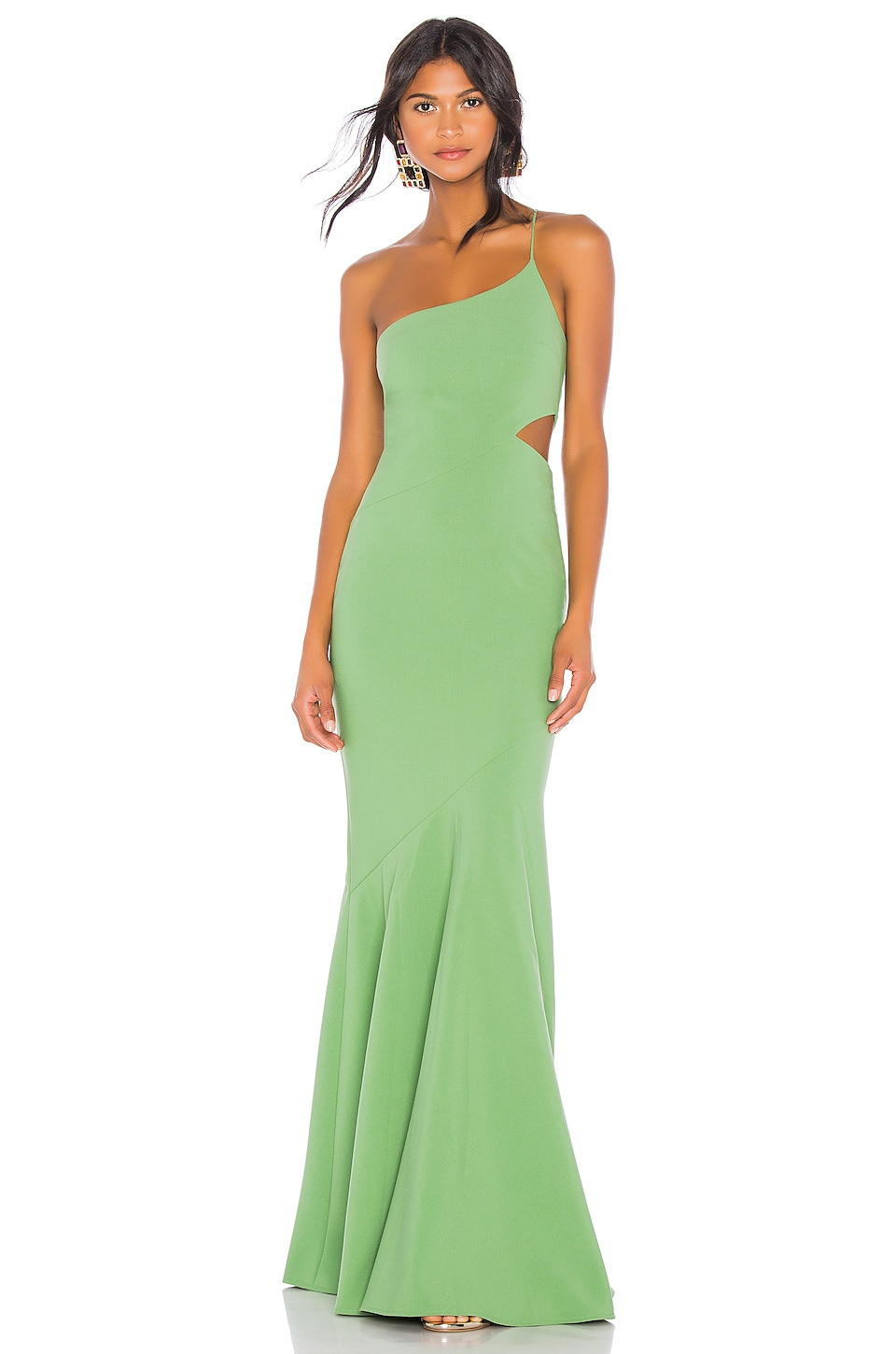 LIKELY x REVOLVE Fina Gown in Juniper