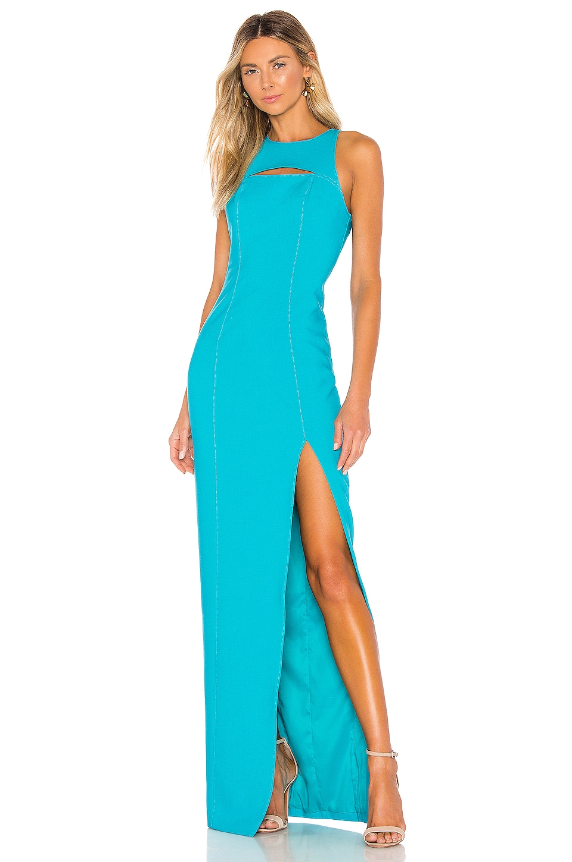 LIKELY Taleesa Gown in Bluebird