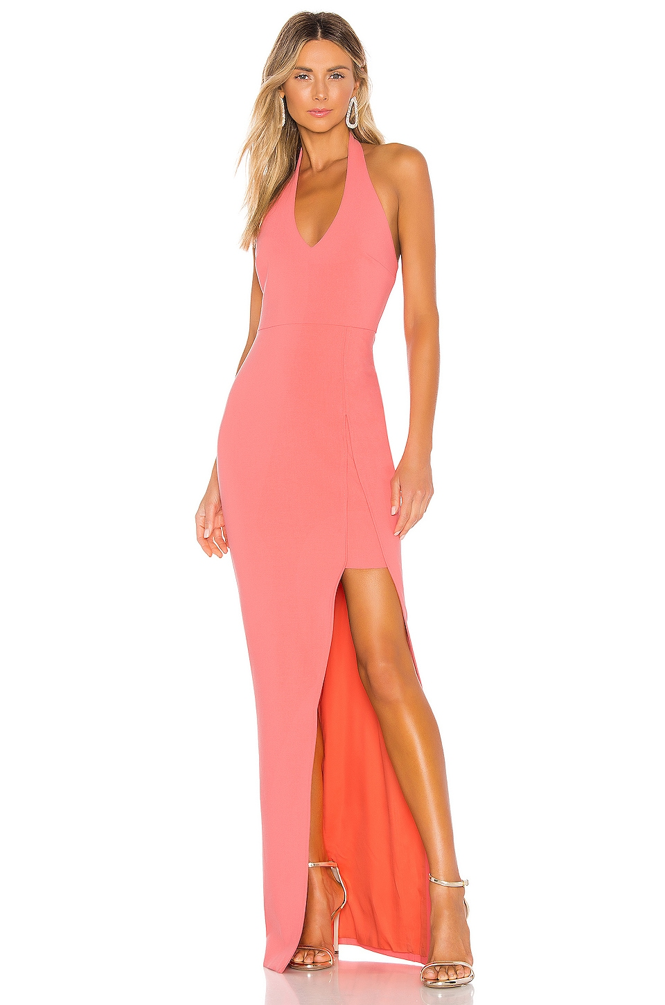 LIKELY Rudina Gown in Coral