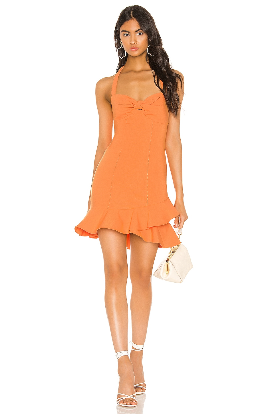 LIKELY Reyn Dress in Mandarin Sun