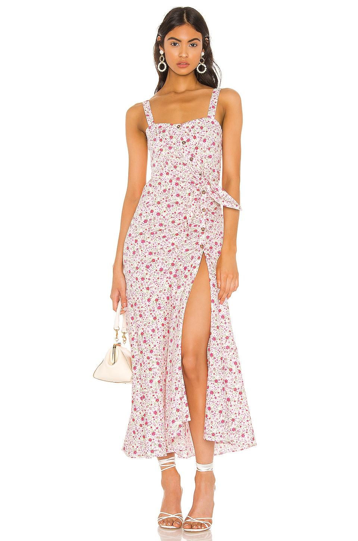 LIKELY Minka Dress in Pink Multi