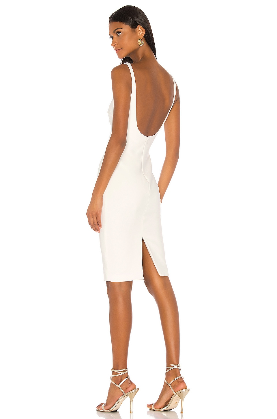 LIKELY Gabrielle Dress in White