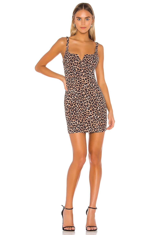 LIKELY Leopard Constance Dress in Leopard