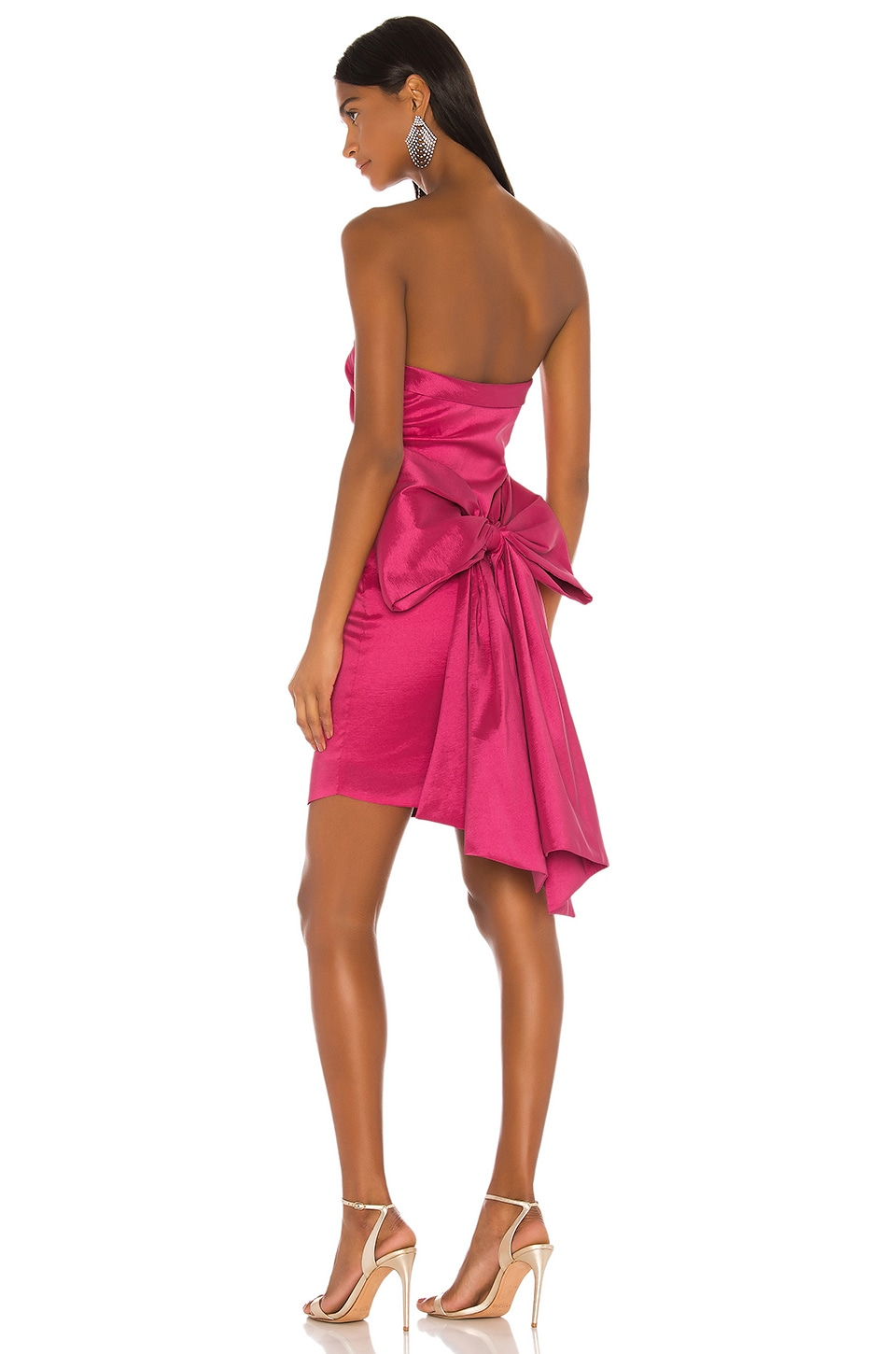 LIKELY Merino Dress in Fuchsia