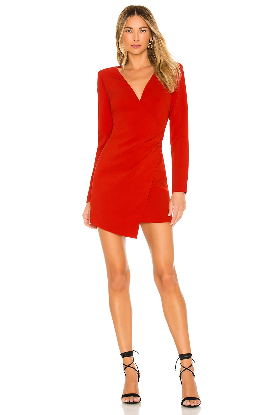 LIKELY Dani Dress in Scarlet