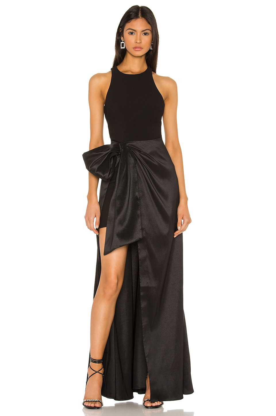 LIKELY Mena Gown in Black