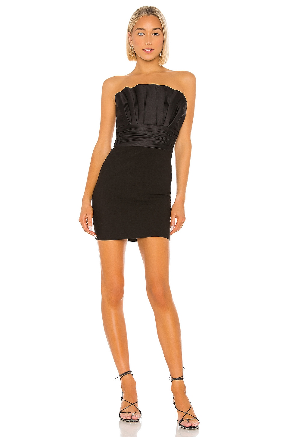 LIKELY Lally Dress in Black