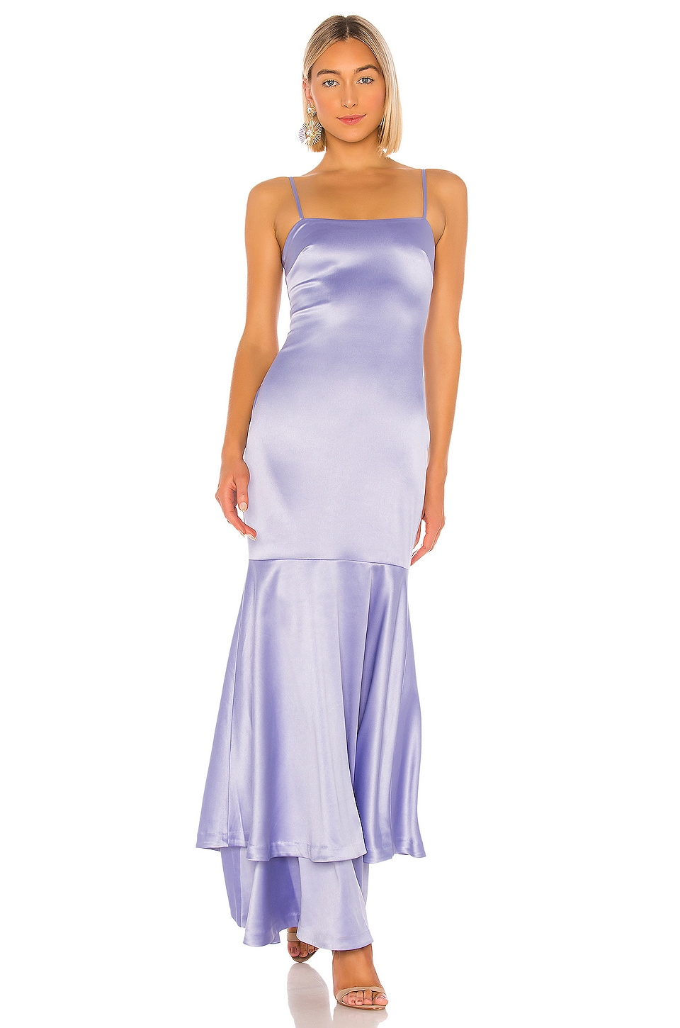 LIKELY Aurora Gown in Periwinkle