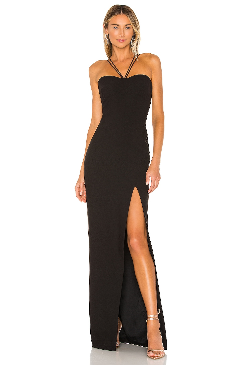 LIKELY Mariette Gown in Black