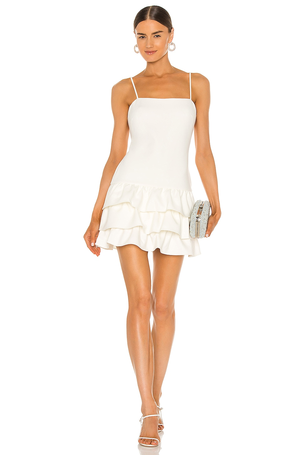 LIKELY Amica Dress in White