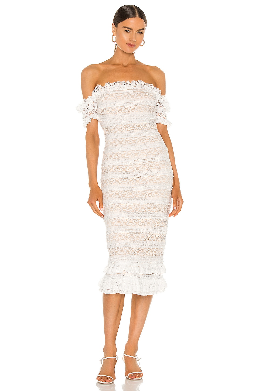 LIKELY Milaro Dress in Ivory